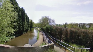 It happened on the Stafforshire & Worcester canal yesterday