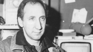 Pete Townshend at the opening of the recording studio in 1986
