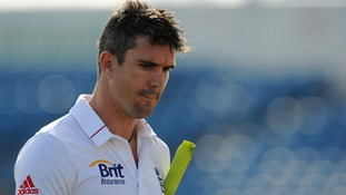 England's Kevin Pietersen.