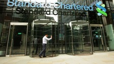 Standard Chartered's offices in the City of London