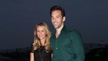 Samia Ghadie and fiance Sylvain Longchambon