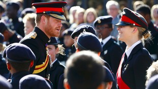Picture special: Prince Harry in Dover