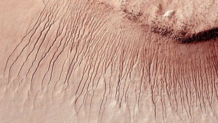 channels on Mars