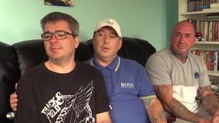 Sons make emotional appeal to find dad's killer