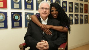 Pete Waterman and Sinitta