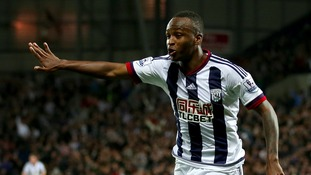 Berahino scores the opening goal of the game