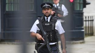 UK police near Westminster