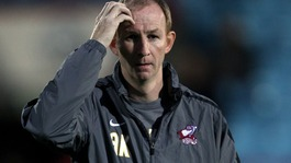 Scunthorpe boss Alan Knill, whose side beat Derby on penalties after a 5-5 draw.
