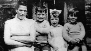 ean McConville with three of her children