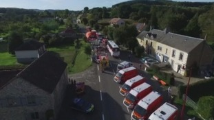 Parents of the pupils involved in a bus crash in France have been told that their children will be returning home