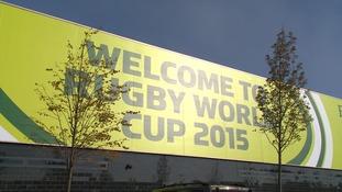 A banner at Stadium MK