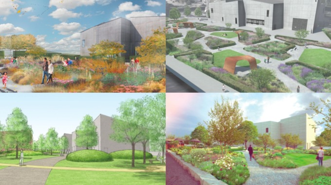 Wakefield Art Gallery Announces Public Garden Plans