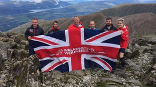 The team on Ben Nevis in August