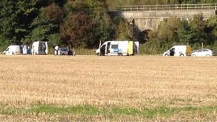 Saltford death scene