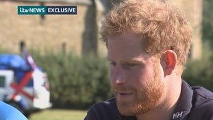 Prince Harry tells ITV News: We need to get rid of stigma surrounding mental health