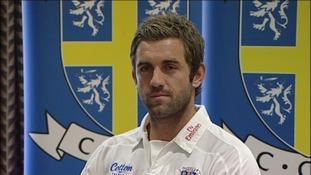 Cricketer Liam Plunkett