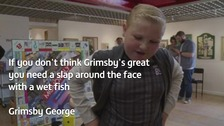 Ten-year-old George loves his home town