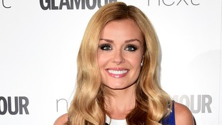 Katherine Jenkins attending the Glamour Women of the Year Awards 2015