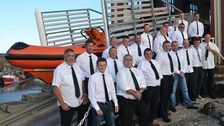St Abbs lifeboat crew