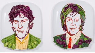 Looking 'Radishing' – Sir Paul McCartney gets a new look for World Vegetarian Day
