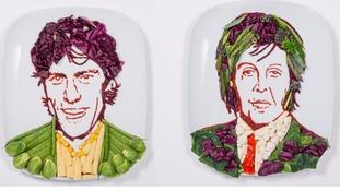 Looking 'Radishing' – Sir Paul McCartney gets a new look for World Vegetarian Day