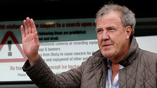 Clarkson outside London Studios where he is due to film Have I Got News For You.
