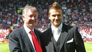 David Beckham and Sir Alex Ferguson to be reunited for Old Trafford charity match
