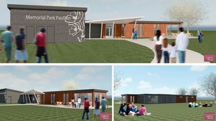 Artist's impression of the proposed new pavilion