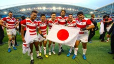 Japan made history against South Africa.