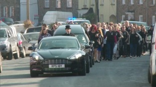 Hundreds say goodbye to Oliver Croker