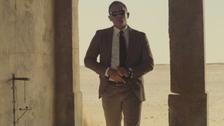 daniel craig in james bond trailer