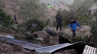Guatemala landslide death toll rises to at least 26.