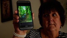 65-year-old Elaine Stewart believes she's snapped a picture of a ghost