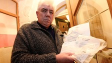 Tim Beddow received letters two-and-a-half years later