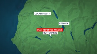 There are reports of a search in the Buttermere area.