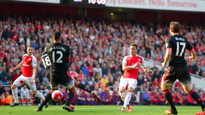Bildergebnis für arsenal manchester united 3-0