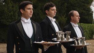 The butlers in the sixth series of Downton Abbey