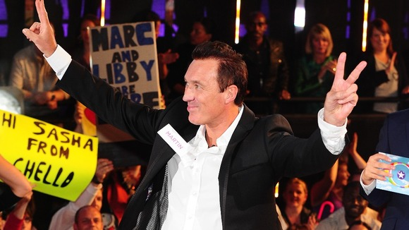 Martin Kemp enters the Celebrity Big Brother House