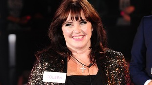 Coleen Nolan enters the Celebrity Big Brother House