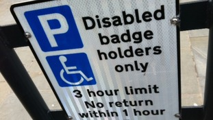 Crackdown on blue badge parking fraud