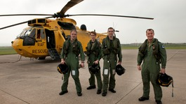 RAF Search and Rescue's final flight at Chivenor