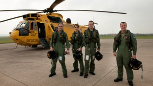 The RAF Search and Rescue team has flown for the final time at Chivenor.