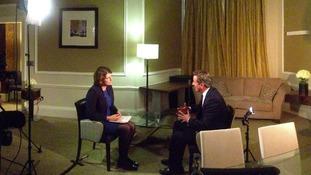 Our political correspondent Emma Hutchinson interviews David Cameron