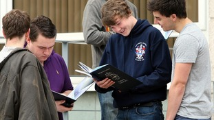 Boys have overtaken girls at A* grade for the first time