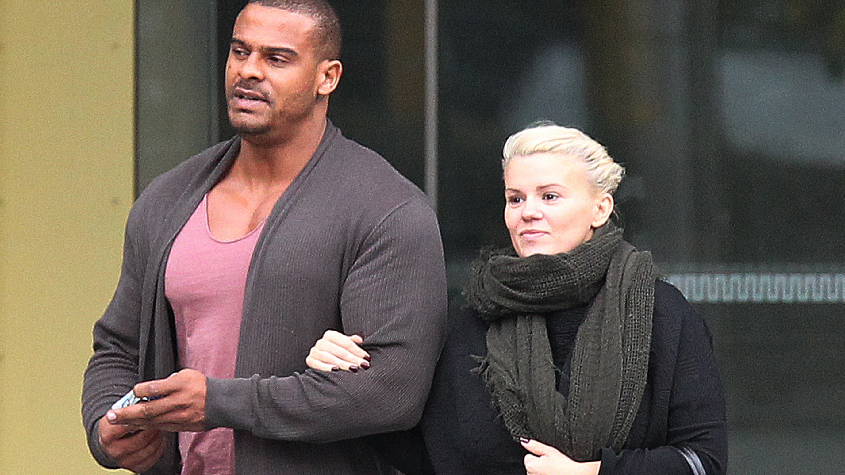 Kerry Katona's Husband Arrested Over 'attacking Her And