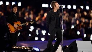 Liam Gallagher Beady Eye Olympics