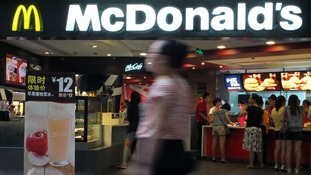 Homeless woman lay dead in McDonald's for hours as oblivious diners ate next to her