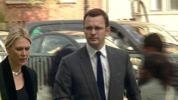 Andy Coulson arrives at Westminster Magistrates&#x27; Court