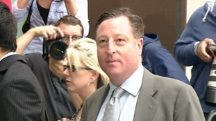 Neville Thurlbeck arrives at Westminster Magistrates' Court