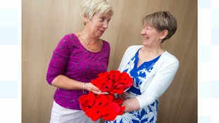 Council reaches hand-knitted poppy target